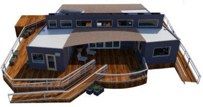 Radiant house SCU messana system