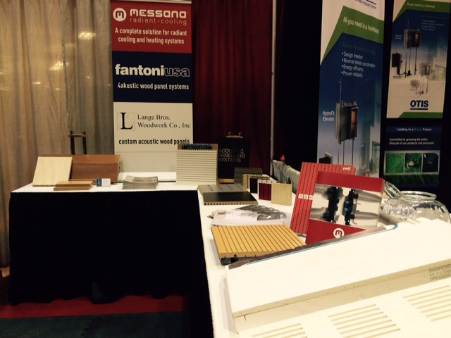 Messana Radiant Cooling at AIA Wisconsin Expo 2015