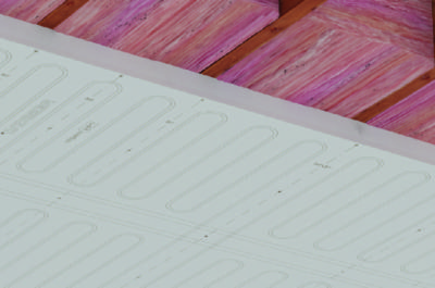 ray-magic, radiant -panel, EPS, radiant ceiling