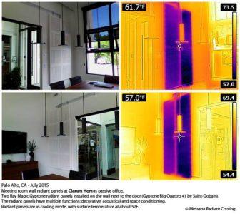 Ray Magic acoustical radiant panel Gyptone Quattro 41