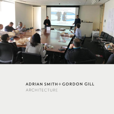 Presentation at Adrian Smith + Gordon Gill Architecture Cover