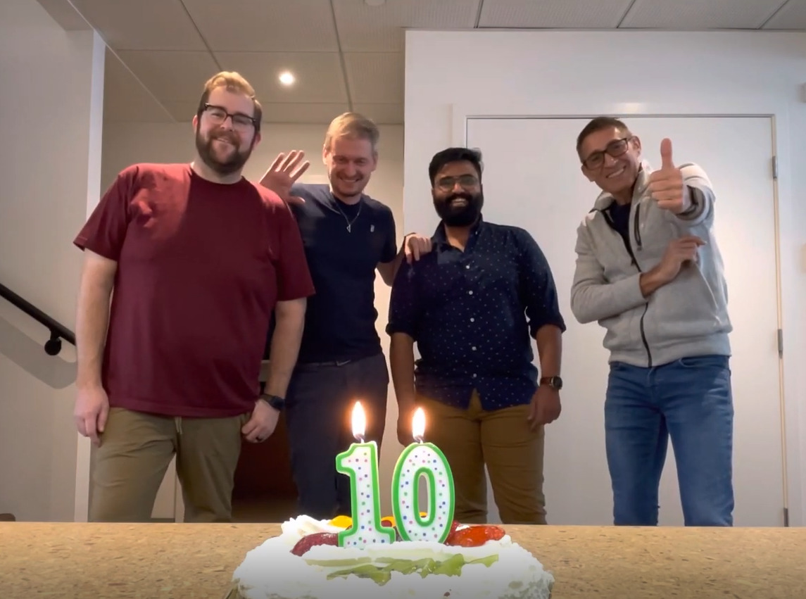 Happy Birthday Active House!